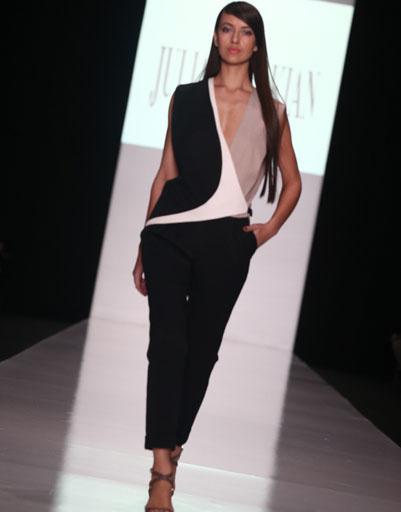 Mercedes-Benz Fashion Week: JULIA DALAKIAN весна-лето 2014