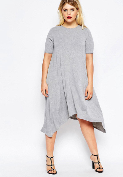Платье boohoo Plus, 1363 р. (Asos.com)