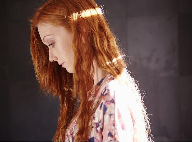 рыжие волосы закрасить