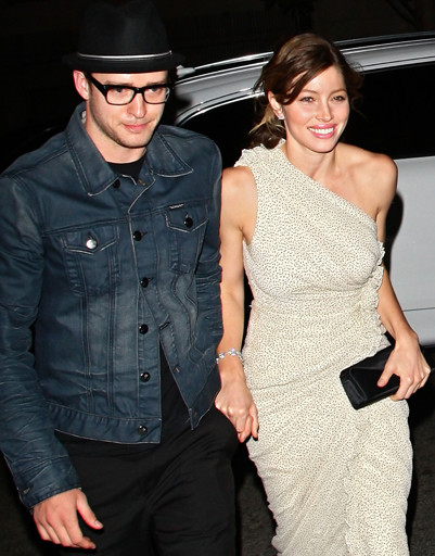 Джастин Тимберлейк (Justin Timberlake) и Джессика Бил (Jessica Biel)