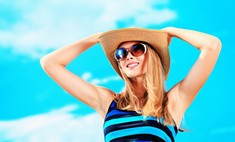 Гармоничные цветовые сочетания: голубой цвет в одежде
