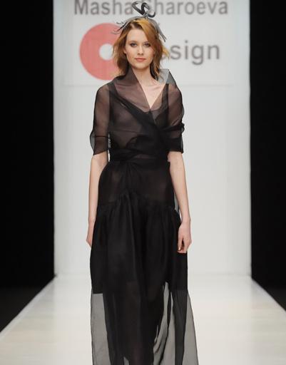 Mercedes-Benz Fashion Week Russia: Masha Sharoeva, осень-зима 2012/13