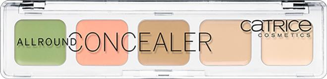 Catrice, палетка консилеров Allround Concealer