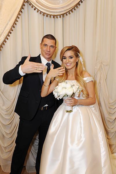 фото свадьба бородиной