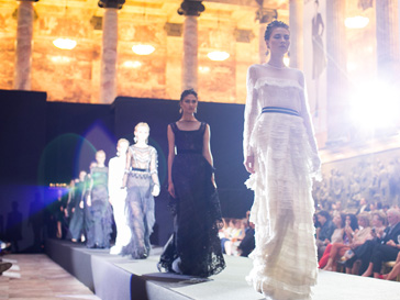 Показ коллекции Alberta Ferretti осень-зима 2013/14 на ELLE Fashion Days