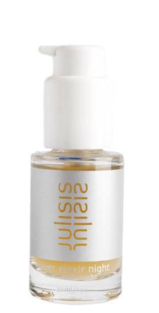Ночной эликсир с серебряной эссенцией для ухода Silver Elixir Night от Julisis. Стимулирует восстановительные процессы в коже, оказывает омолаживающий эффект. Алхимическое серебро и эссенция белого жемчуга способствуют процессу детоксикации. Выравнивает и подтягивает кожу, восстанавливает и регенерирует ее во время ночного сна.