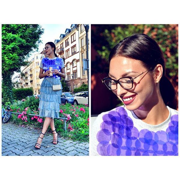 инстаграм тюмень модный блогер Эля Вакасова