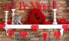 Как оформить квартиру ко Дню святого Валентина: 20 идей