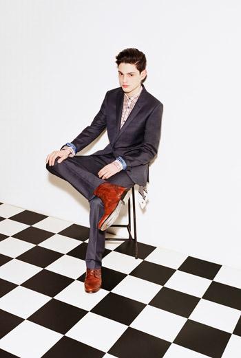 Модели одежды из коллекции Topman