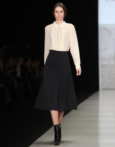 Показ коллекции Vitaliya Bykova ALEXEEV осень-зима 2013/14 на Mercedes-Benz Fashion Week Russia