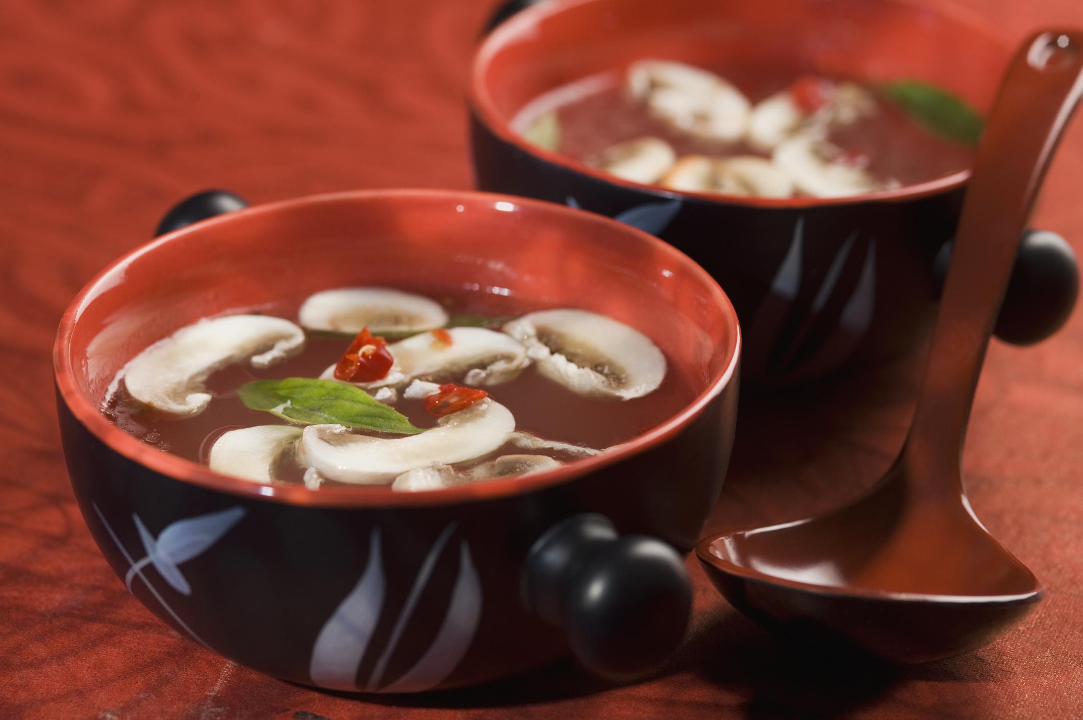 Грибной суп из маринованных опят рецепт пошагово в