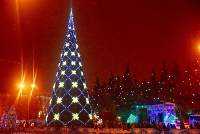 главная елка Чебоксары