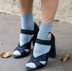 Тренд в деталях: 28 способов носить носки с туфлями