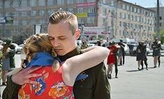 200 танцоров станцевали Вальс Победы