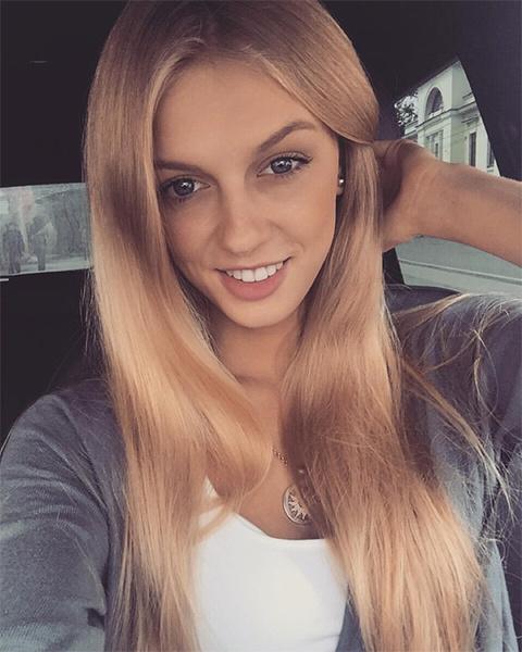 Алена Филинкова, модель