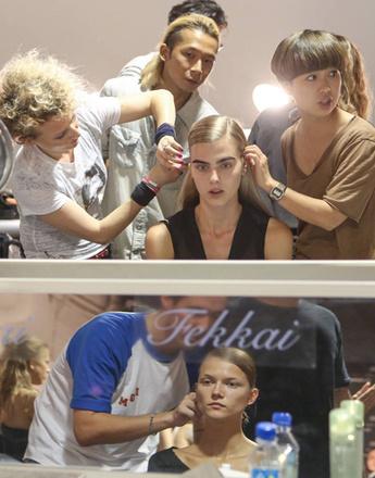 Тенденции макияжа 2013