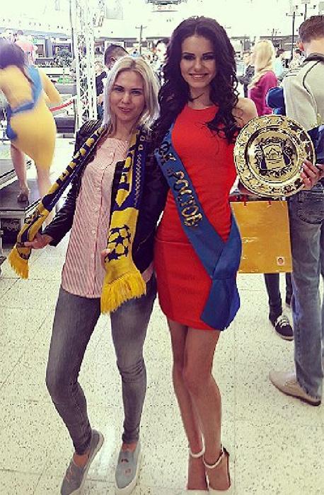 В футбольном клубе «Ростов» состоялся конкурс красоты