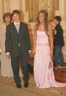 Андрей и Юля Аршавины на свадьбе одного из друзей