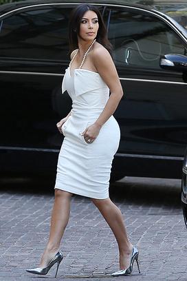 Ким Кардашьян направляется на свой девичник