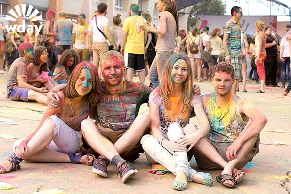 Фестиваль красок в Ростове-на-Дону 2015: фотоотчет