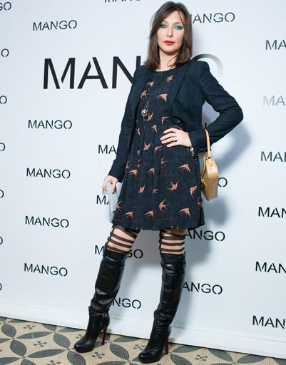 Полина Гриффис на показе Mango весна-лето 2012