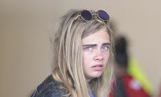 Грусть-тоска: Кара Делевинь показала лицо без макияжа