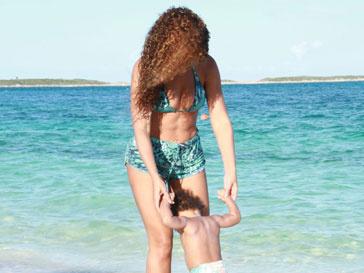 Бейонсе (Beyonce) c дочерью Блю Айви