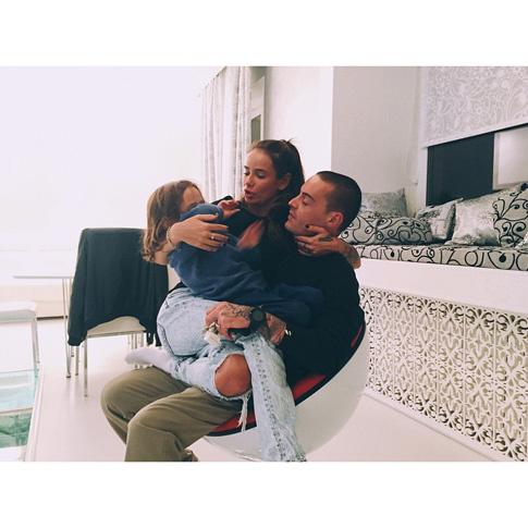 Гуф с семьей: фото