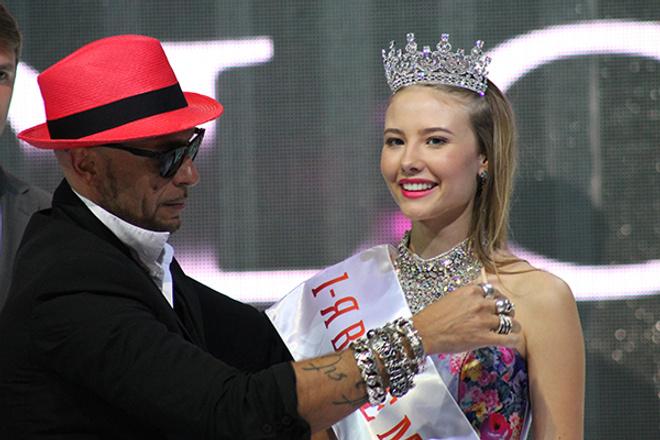 Яна Спиркова первая вице-мисс Мисс Волга 2015