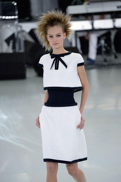 Показ Chanel Couture весна-2014