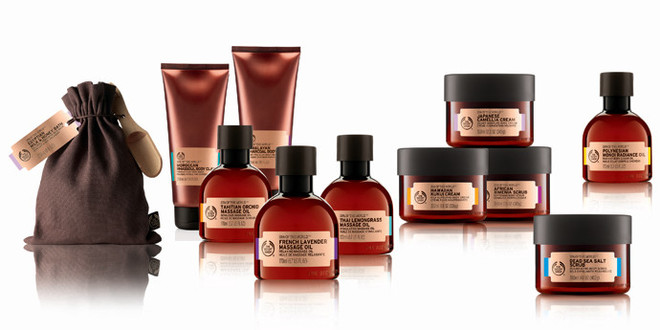 The Body Shop, коллекция Spa of the World