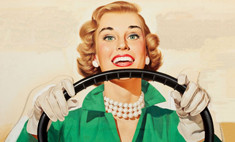 Блондинка за рулем: 5 отличий от мужчины-водителя