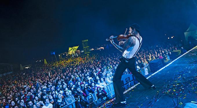 «Дикая мята» — крупнейший фестиваль для меломанов