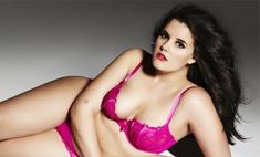 Скандал размера «плюс»: полная модель Люси Мур в рекламе нижнего белья