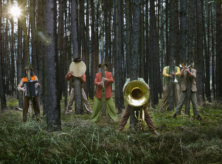 Оркестр в лесу