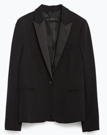 Блейзер-смокинг Zara