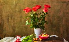 Продлите жизнь срезанным розам в вазе