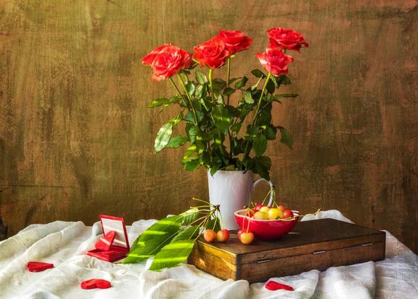 Как сохранять розы в вазе