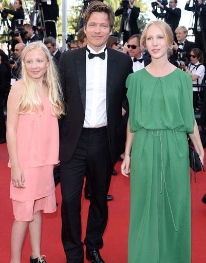 Томас Винтерберг с семьей