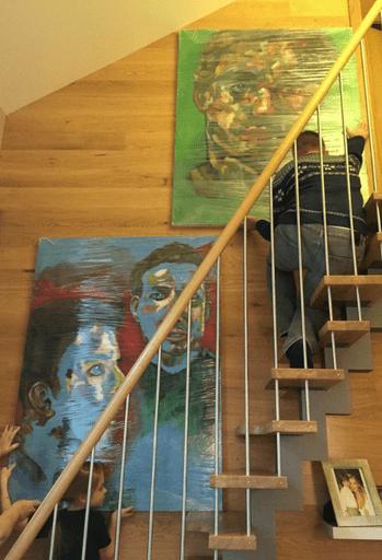 Сын Олега Газманова Филипп пишет картины фото