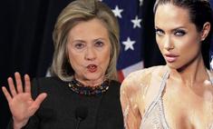 Хиллари Клинтон не пустит Анджелину Джоли в Белый дом