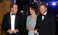 Британские принцы сходили в кино на Бонда
