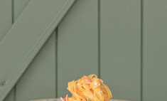 Фетучини с копченым лососем и сливочным соусом от натальи скворцовой