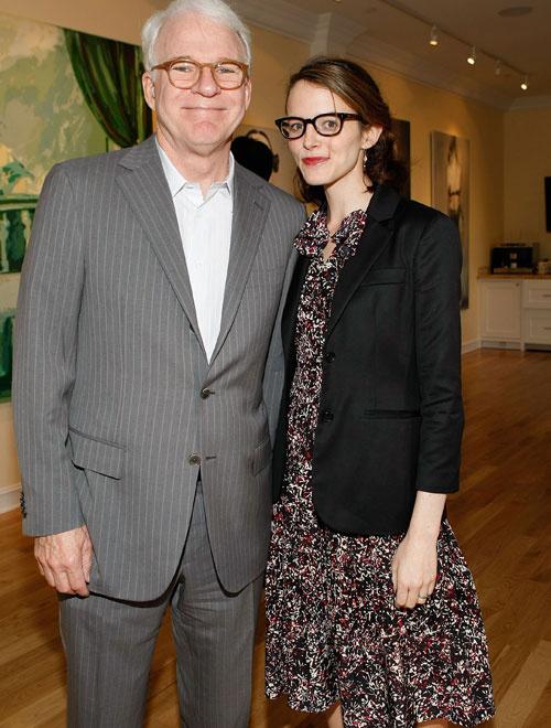 Стив Мартин с женой