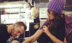 Алена Водонаева сделала новую татуировку