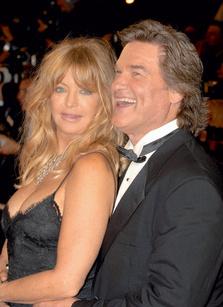 Голди Хоун (62 года) и Курт Рассел (56 лет), разница - 6 лет