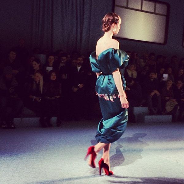 Показ Ulyana Sergeenko Couture весна-2014