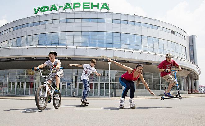 Ролики Уфа Ролики в Уфе Прокат роликов Уфа Где покататься на велосипеде Уфа