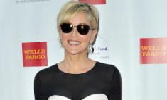 57-летняя Шэрон Стоун пришла на премию в прозрачной юбке