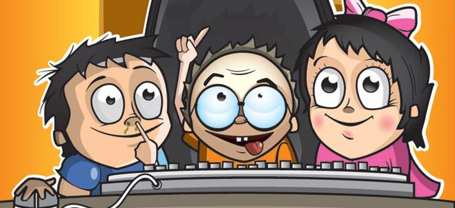 Подростки, увлеченные компьютером, с трудом могут сосредоточить свое внимание на книжной странице.